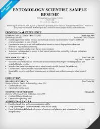 Pest Control Resume Sample 28 Entomology Scientist Resume Chemist Cover Letter