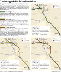 Arizona Is Time Travel Possible images 3 alternative routes remain for proposed tucson phoenix commuter png