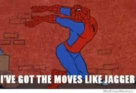 Spiderman Meme - 60 s spider man meme tumblr