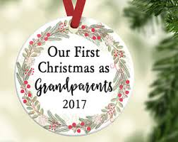 grandparent ornament etsy