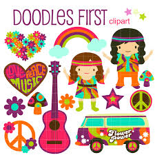 hippie van drawing hippie clipart free download clip art free clip art on