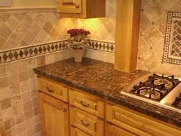 Installing Travertine Tile Iron Inset Kitchen Backsplash Latest Kitchen Design Trends