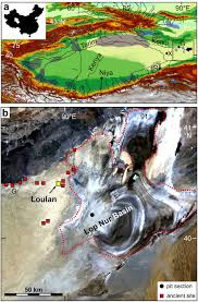 Kunlun Mountains Map The World U0027s Earliest Aral Sea Type Disaster The Decline Of The