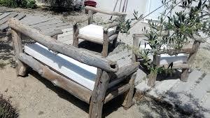canapé bois flotté canape bois flotte et fauteuils en bout de fair t info