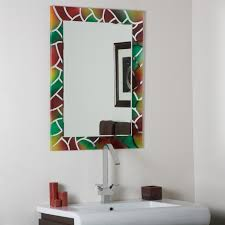 pretty mosaic bathroom mirror on other mosaic mirrors contemporary