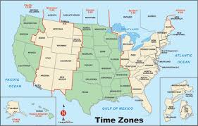united states map with state names and time zones usa state map and time zones united states time zone map thempfa org