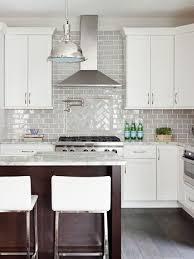 gray backsplash kitchen kraus designs llc white cabinets gray backsplash