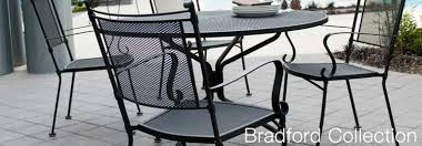 Bradford Dining Room Furniture Collection Bradford Outdoor Iron Furniture Collection