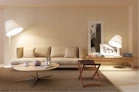 Livingroom Lamp Beyond White Bliss Of Soft And Elegant Beige Living Rooms