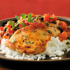Chicken Main Dish - chicken medallions with capers u0026 tomatoes recipes pampered
