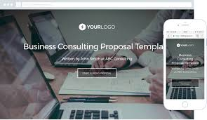 templates for business consultants business consulting proposal template better proposals