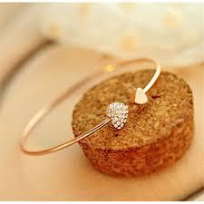 rose gold love heart bracelet images Very new cheap carter love bracelet women open cuff bracelets jpg