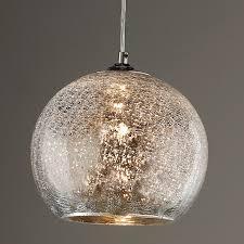 Bowl Pendant Light Fixtures Crackled Mercury Bowl Pendant Light Shades Of Light