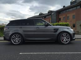 land rover sport custom range rover sport 2013 2017 l494 svr body kit styling upgrade
