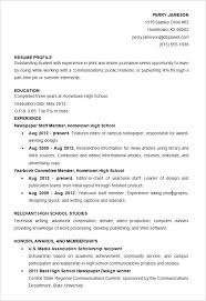 basic resume templates 2013 exles of high student resumes