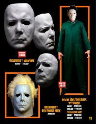 2017 michael myers u0027halloween ii u0027 vacuform mask coveralls