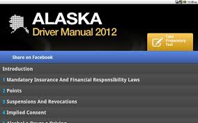 alaska driver manual free android apps on google play
