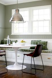 your fresh dose of inspiration for new dining room decors white tulip table with marble top and bench seating