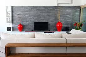 Stone Wall Living Room Products Cladding Series Strip Cladding Island Stone Pebble Tile