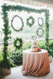 wedding backdrop green 30 wedding wreath ideas to get inspired deer pearl flowers