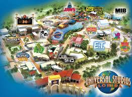 Map Of Orlando Theme Parks by Theme Park Brochures Universal Studios Hollywood Inside Map