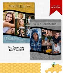 senior yearbook ad templates downloadable yearbook ad template photoshop required