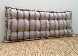 custom bench cushion french mattress quilted made to