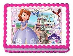 sofia the cake topper sofia the princess party decoration cake topper cake image