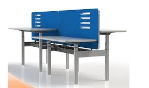 Adjustable Height Desk Plans by Open Plan Office Furniture Benching Desks Height Adjustable