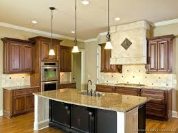 kitchens with different colored islands kitchen cabinets island datavitablog com