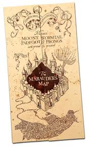 How To Make A Map Harry Potter Paraphernalia How To Make A Marauder U0027s Map Party