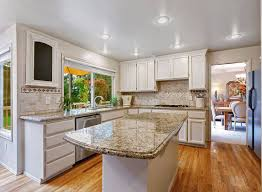 white antiqued kitchen cabinets granite countertop how to antique kitchen cabinets with white