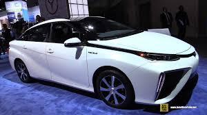 hydrogen fuel cell car toyota 2016 toyota mirai fuel cell hydrogen vehicle exterior interior
