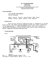 Toyota 2e Engine Diagram 1993 Toyota Vacuum Diagrams
