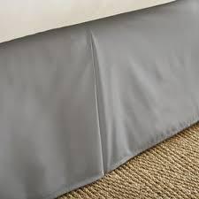 Bed Skirt With Split Corners Gray U0026 Silver Bed Skirts You U0027ll Love Wayfair