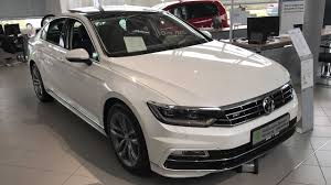volkswagen sedan interior vw passat sedan b8 r line limousine model 2017 oryx white