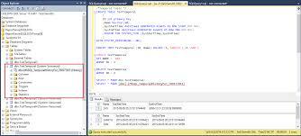 sql 2016 temporal table sql 2016 temporal tables sql scan
