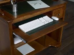 mobilier de bureau informatique petit bureau informatique malorie en merisier de style louis