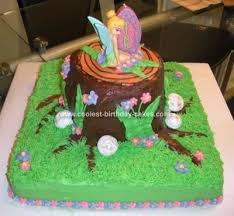 tinkerbell cake ideas coolest tinkerbell cake design birthday party ideas