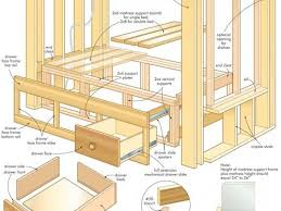 Woodworking Plans Platform Bed Free by 62 Best Pdf Plans Images On Pinterest Free Woodworking Plans