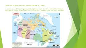 Physical Map Of Canada by Canada Ppt Download