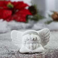 ready to personalize ceramic cherub ornament ornaments