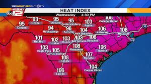Iu Map San Antonio U0027s Going On A Week Of Triple Digit Heat