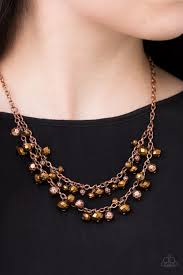 copper necklace images Paparazzi fashion show fabulous copper necklace and earring set jpg