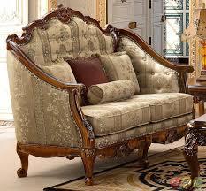 Living Room Set Antique Look Carameloffers - Vintage living room set