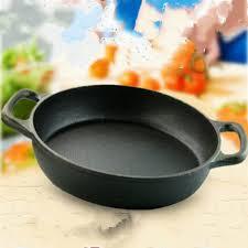 ustensiles de cuisine en fonte fonte de fer grill pan poêle pot wok ustensiles de cuisine cuisine
