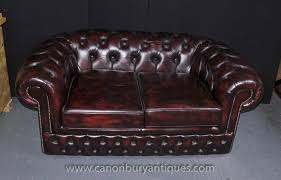 Chesterfield Sofa Vintage Vintage Leather Chesterfield Sofa Button