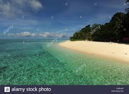 Beach Transparent by Malaysia Borneo Semporna Archipelago Sipadan Idyllic Beach