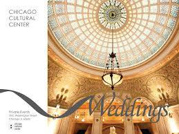 wedding halls in chicago city of chicago chicago cultural center wedding information