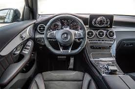 mercedes dashboard 2017 one week with 2017 mercedes amg glc43 coupe automobile magazine